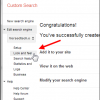 add Google Custom Search to your Google Blogger Blog