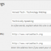 How to redirect your Blog from non WWW to WWW from Wordpress Admin Panel