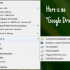 Add Google Drive to Send To Menu in Windows