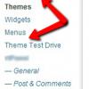 setup a theme when you have a live blog