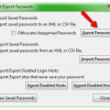 Import or Export Your Saved Password inside Firefox
