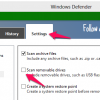 How to Scan Removal Drives Using Windows Defender