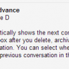 Get Next Conversation after Deleting, Archiving or Muting A Conversation