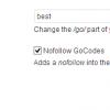 GoCodes - the Best Free Affiliate Link Shortener for Wordpress