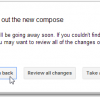 How to Temporarily Switch Back to Old Compose Mail in GMail