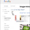 Get Google Reader Like Layout in Feedly