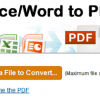 convert office to pdf