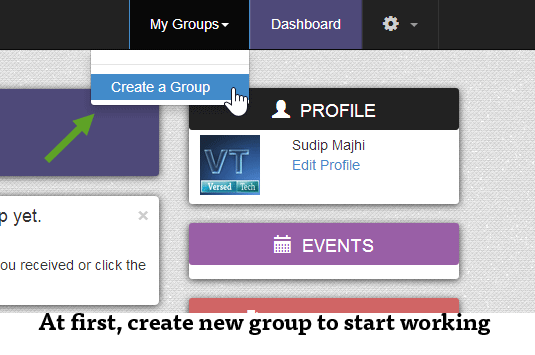 how to create a new hangouts group