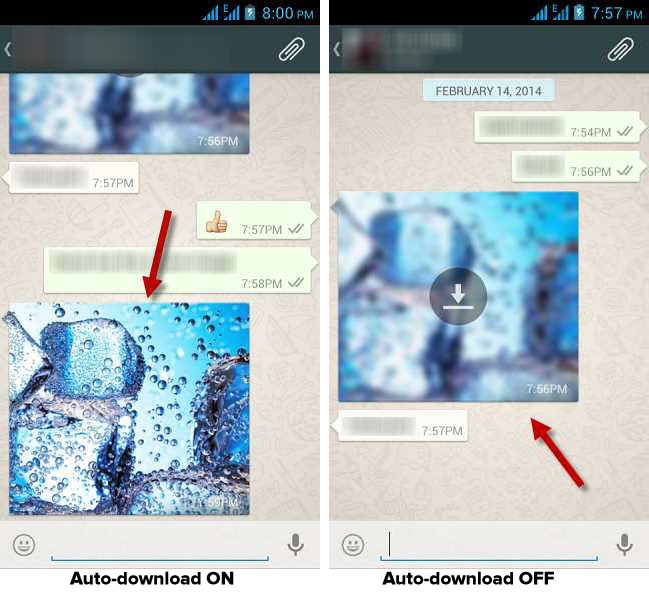 Whatsapp how to download media