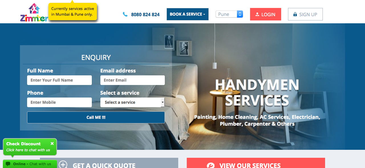 zimmber-handyman-services-app-review - Versed Tech