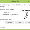 Fix Folder to Fix Folder In Use/Cannot Delete Problem in Windows